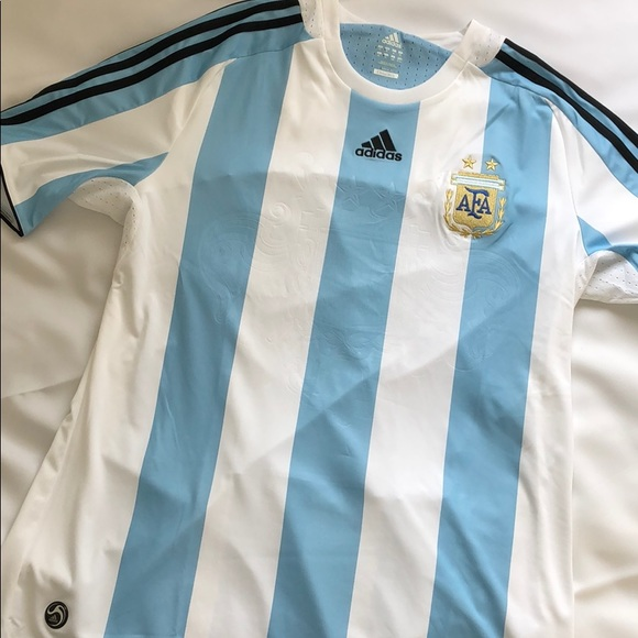 info for ff024 0b8f5 NEW Argentina National Soccer Team Jersey Adult XL NWT